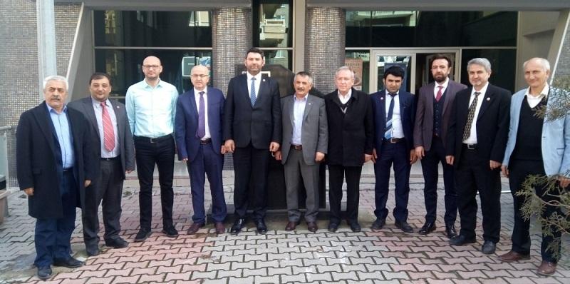 Belediye Başkan Adayı Hasan Hüseyin Uğurlu Ve Meclis üyeleri Ziyareti