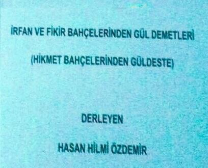 Hemşerimiz Hukukçu H.hilmi özdemir'in Kitabı çıktı.!