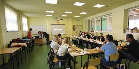 Ali çetinkaya Ortaokulu öğretmenleri Polonya'da