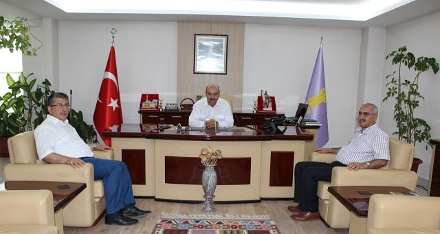 Konya Birlik Başkanı Ve Vekilinden Esob'a Ziyaret