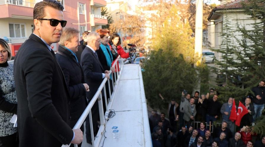 İyi Parti Genel Başkanı Meral Akşener Dinar'da