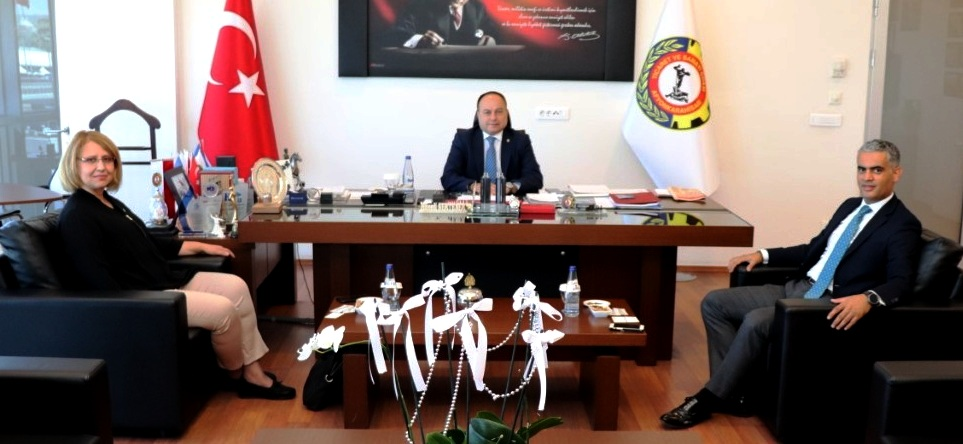 Türkiye Finans'tan Serteser'e Ziyaret