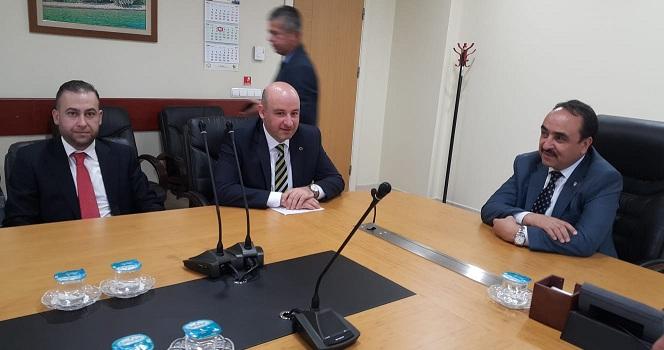 İl Başkanı Sezen 18 İlçe Başkanı İle Ankara'ya çıkarma Yaptı