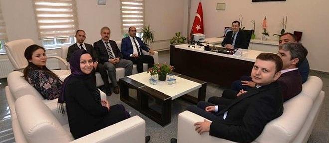 Başkan Mustafa çöl'den Devlet Hastanesine Teşekkür Ziyaret