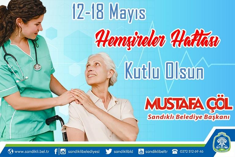 Başkan Mustafa çöl'den Hemşireler Haftası Mesajı
