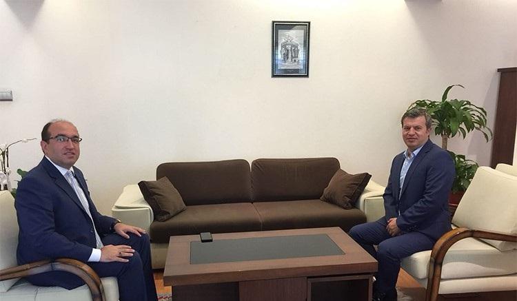 Başkan Mustafa çöl'den İl Emniyet Müdürüne Ziyaret