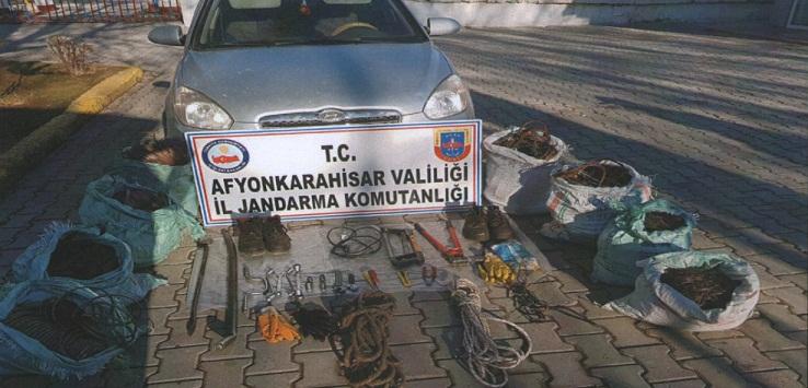 Sinanpaşa'da Uyuşturucu Operasyonu