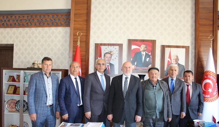Kırım Türkleri Afyon şubesi Yönetimi Ziyaret Turuna çıktı