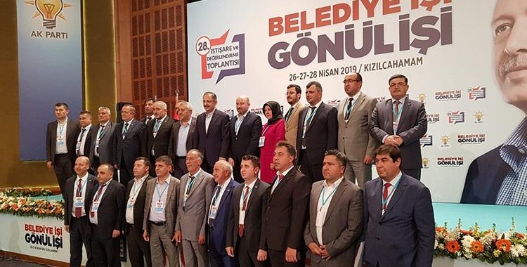 Başkan Mustafa çöl Ak Parti Kızılcahamam Kampında..