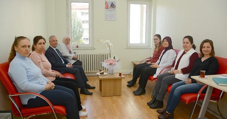 Başkan Acar'da 14 Mart Tıp Bayramı Ziyaretleri