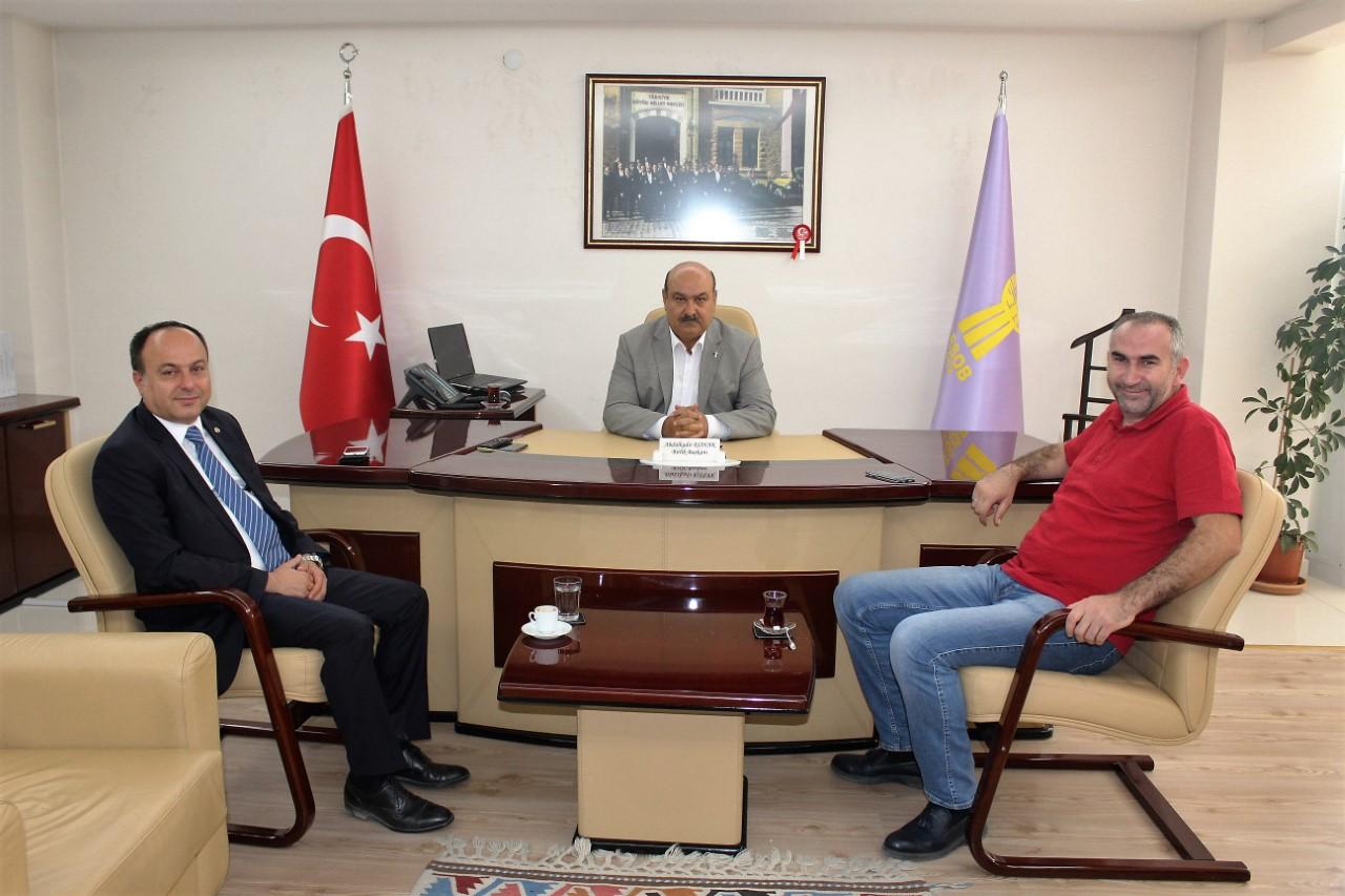 Tso Başkanı Serteser'den Başkan Konak'a Ziyaret