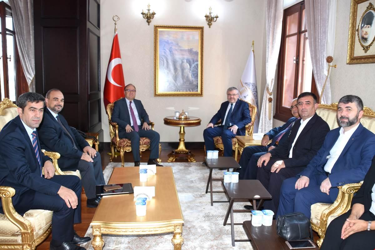 Tübitak Yönetim Kurulu Toplantısı Afyon'da Yapıldı
