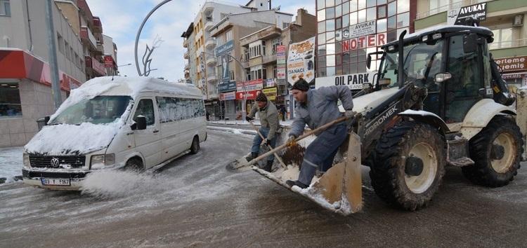 Kar Ve Buzlanmaya Karşı Gereken Tedbirler Alındı