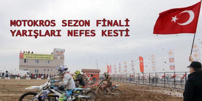 Türkiye Motokros şampiyonası Sezon Finali Nefes Kesti