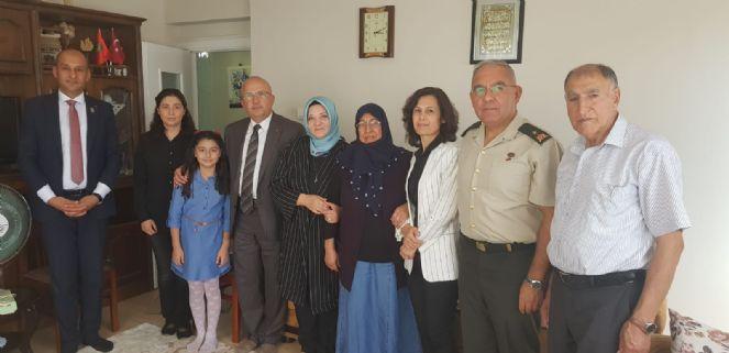 şehit Ve Gazi Ailelerine Bayram Ziyareti